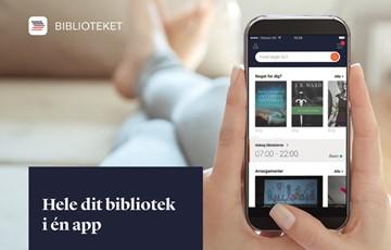 Appen Biblioteket giver dig nem adgang biblioteket på dine mobile enheder