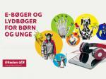 Logobillede eReolen Go! Lydbøger og e-bøger for børn og unge