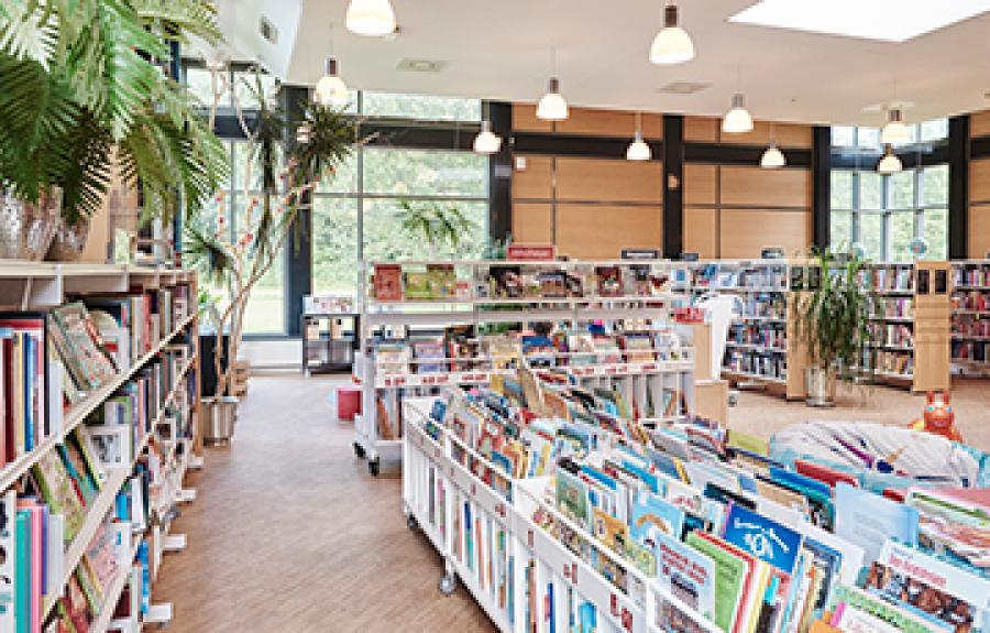 Trekanten - Bibliotek og Kulturhus