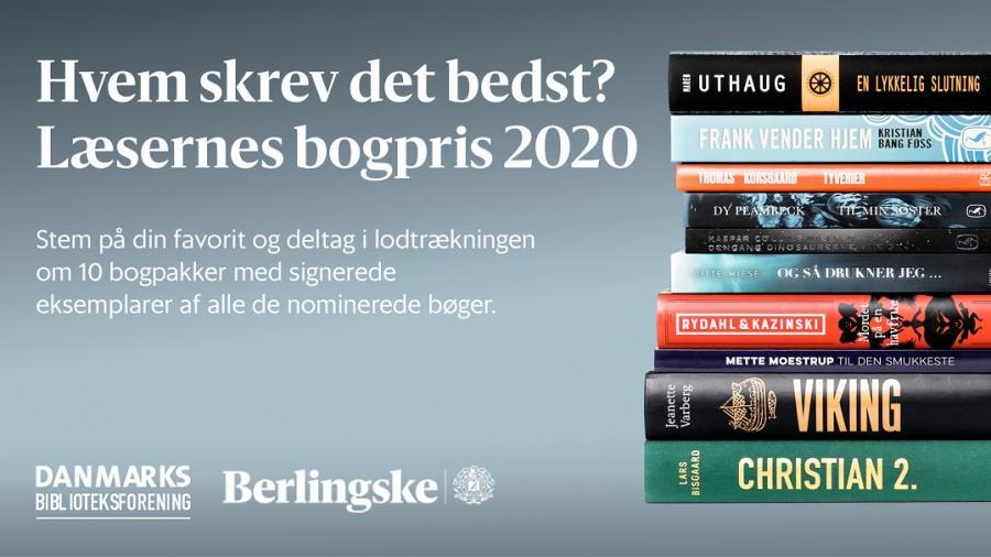 Læsernes bogrpis 2020