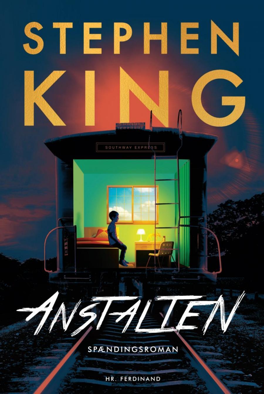 Forsidebillede af bogen Anstalten af Stephen King