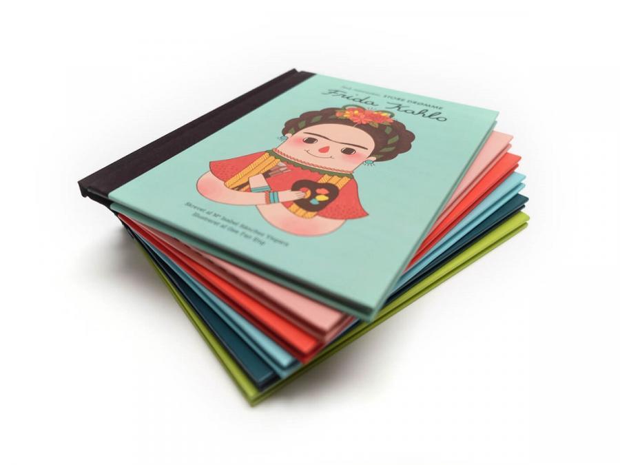 En bunke billedbøger