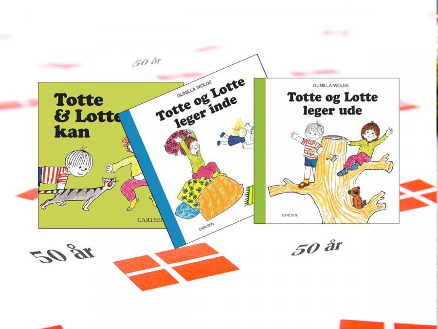Totte og Lotte bøger
