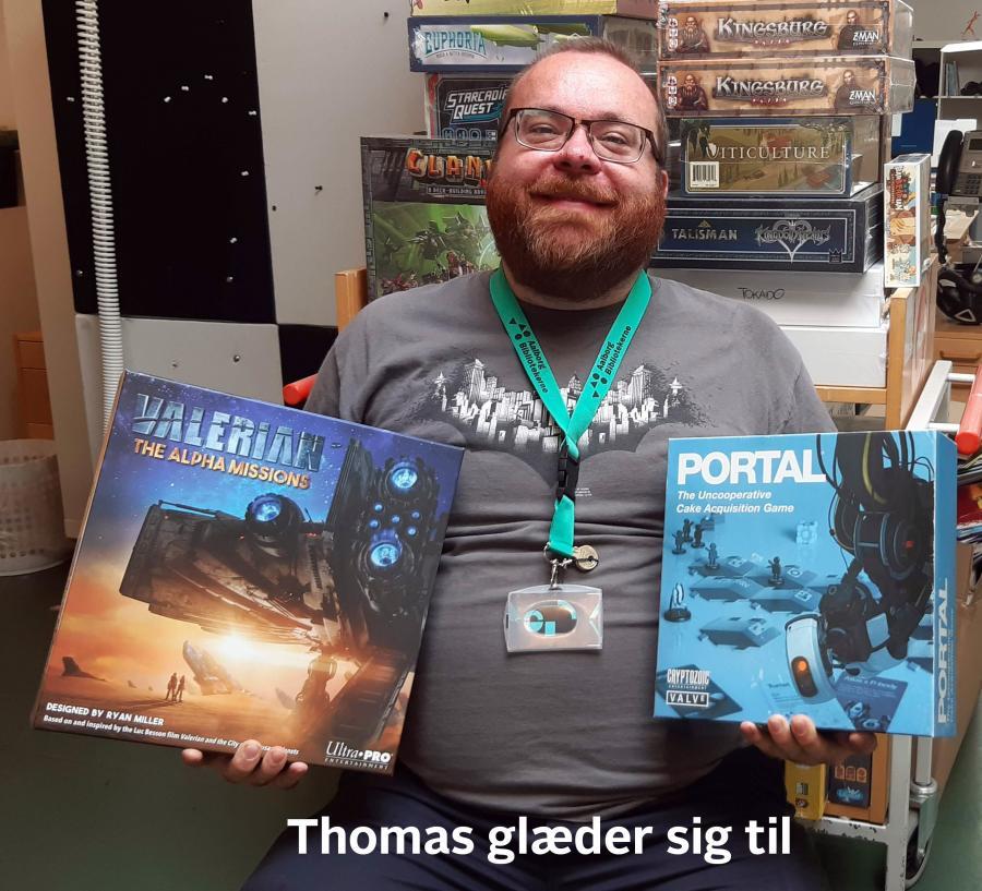 Thomas glæder sig til at spille Portal og Valerian