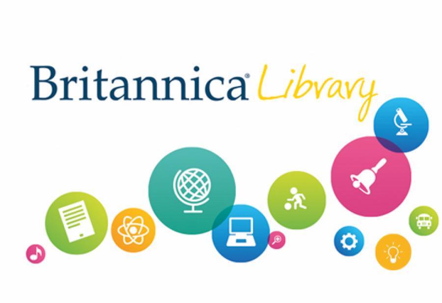 Logobillede af Britannica Library