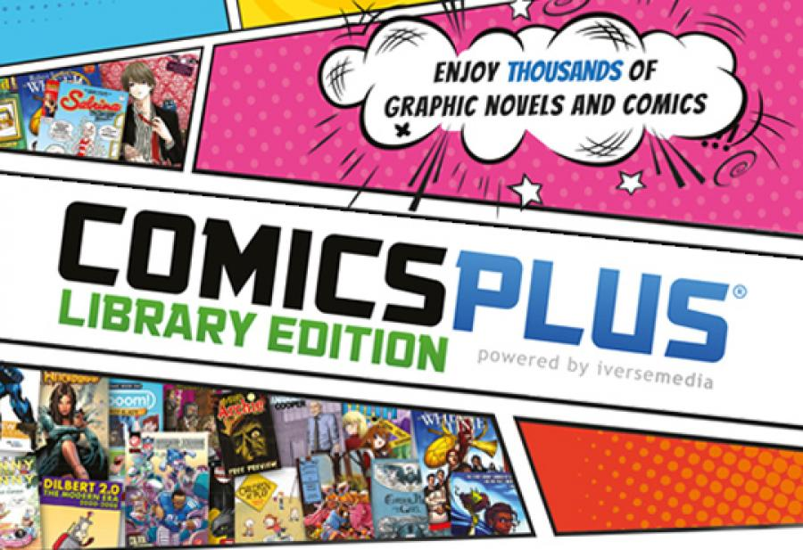 Logobillede af Comics Plus tegneserier
