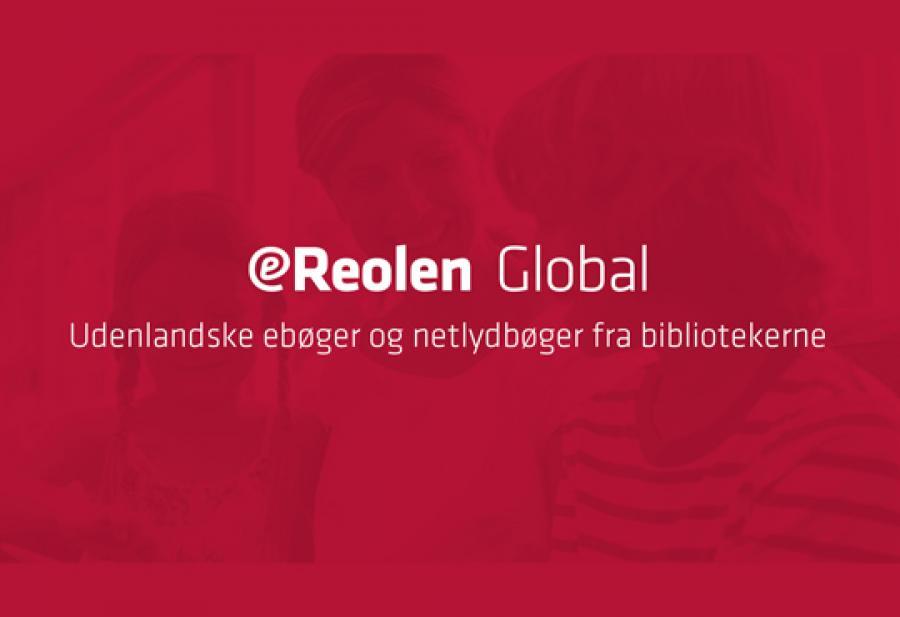 Logobillede eReolen Global udenlandske e-bøger og lydbøger