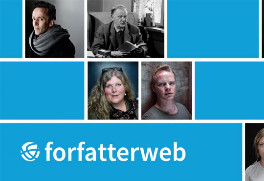 Logobillede Forfatterweb
