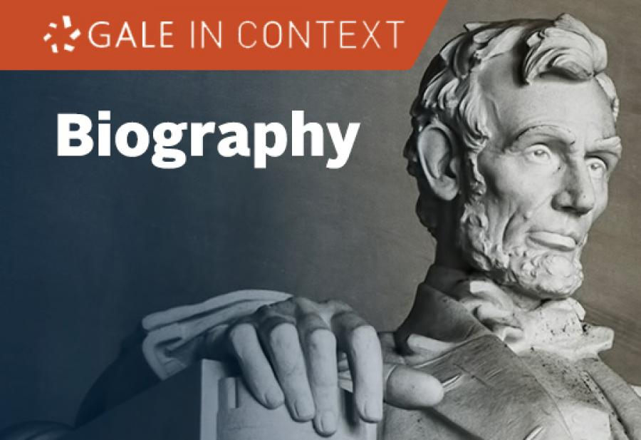 Logobillede: Gale In Context Biography