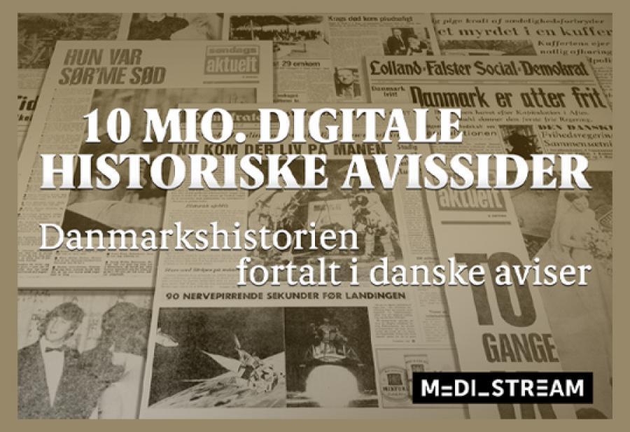 Logobillede Mediestream aviser