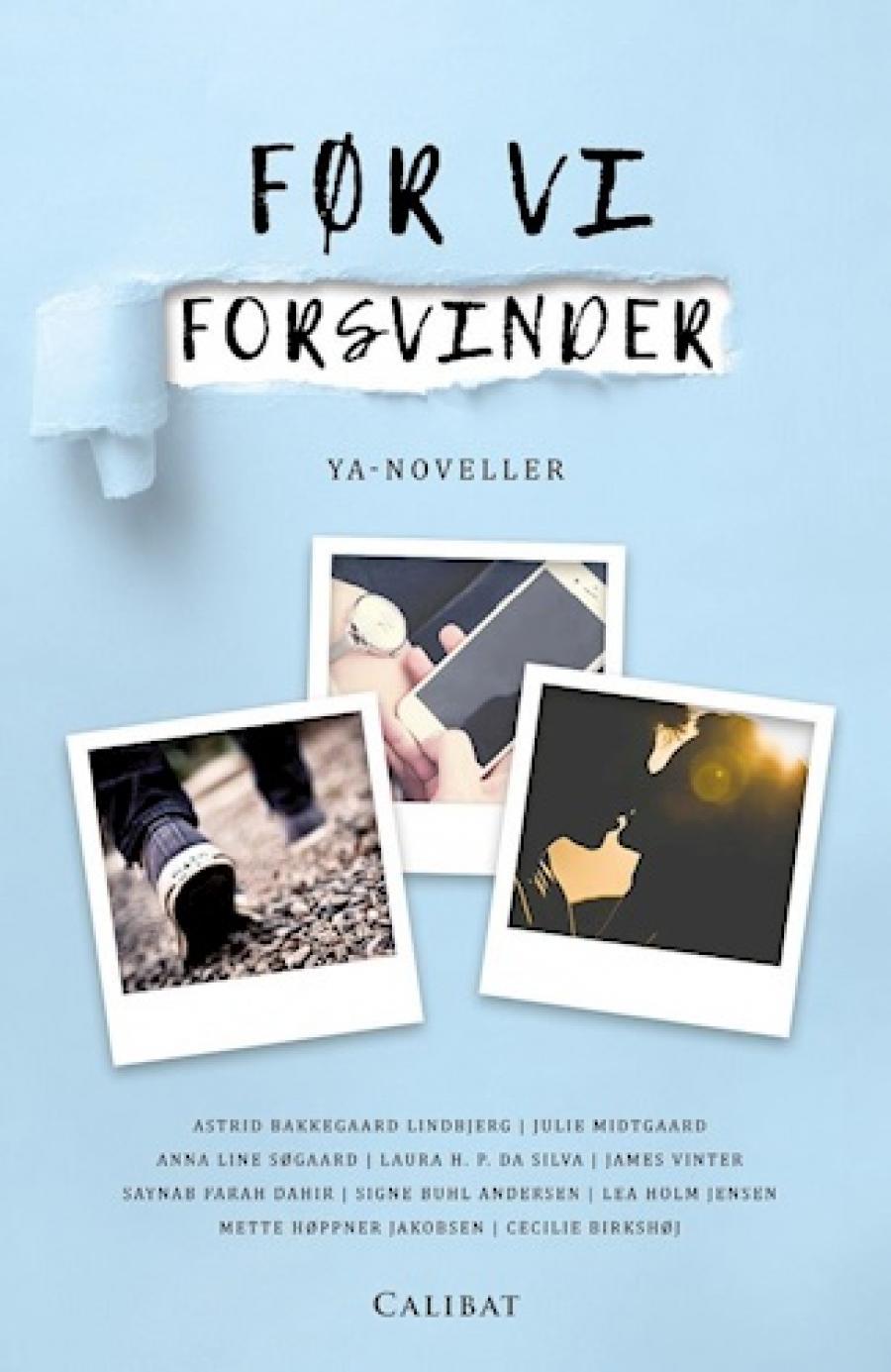 Før vi forsvinder : YA-noveller