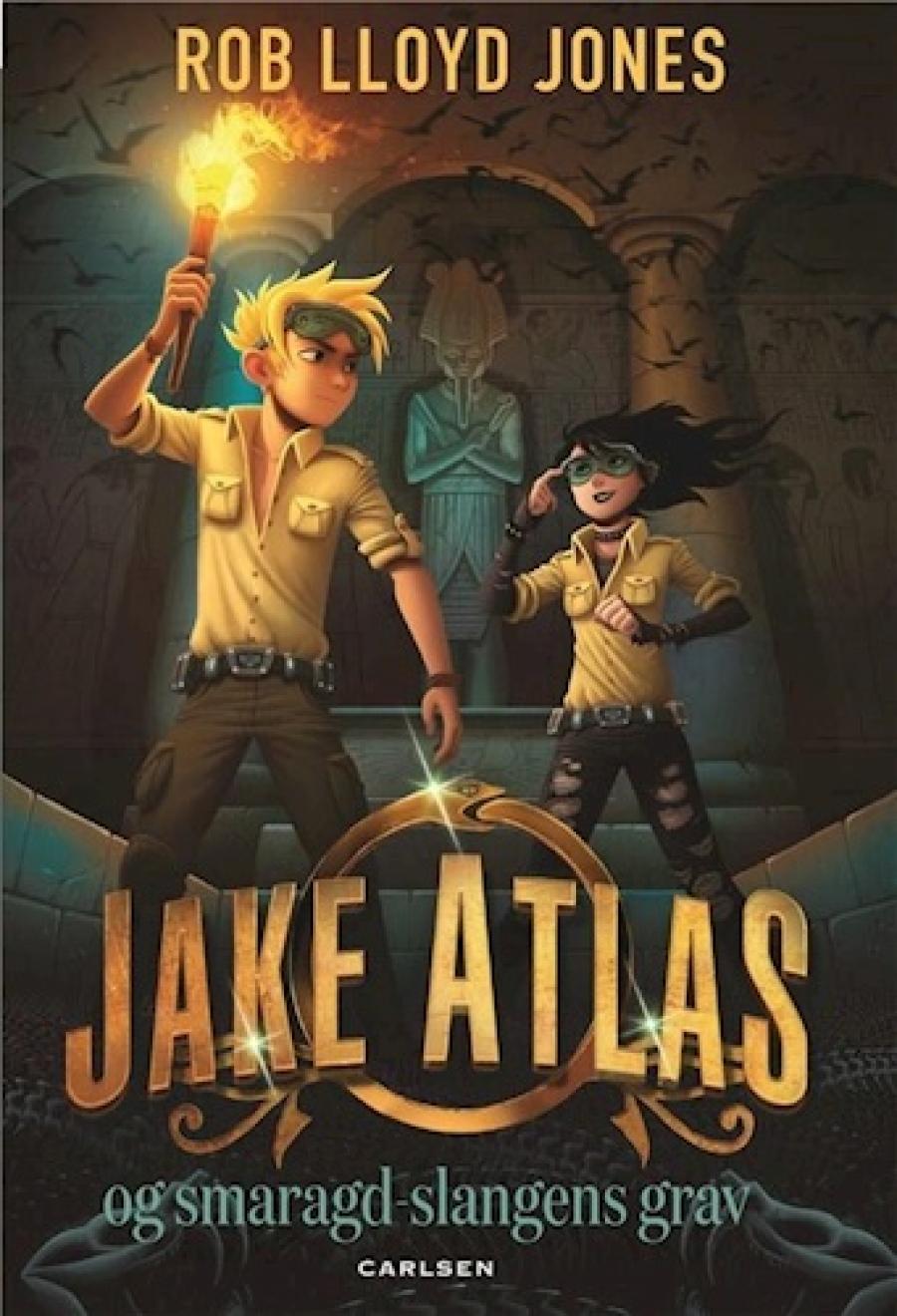 Jake Atlas - smaragdslagens grav af Rob Lloyd Jones