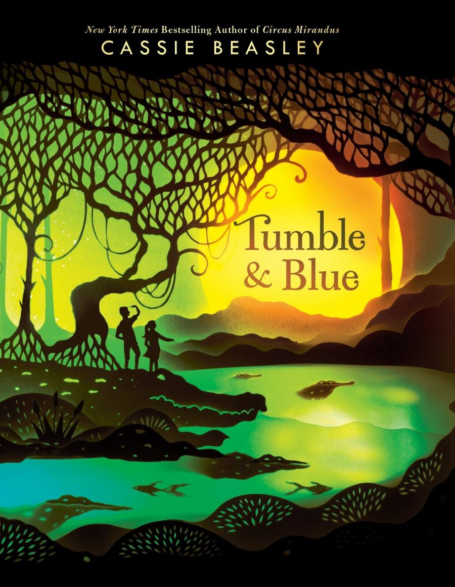 Tumble and Blue af Cassie Beasley