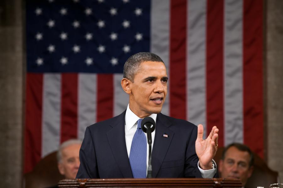 Billede af tidligere præsident, Barack Obama