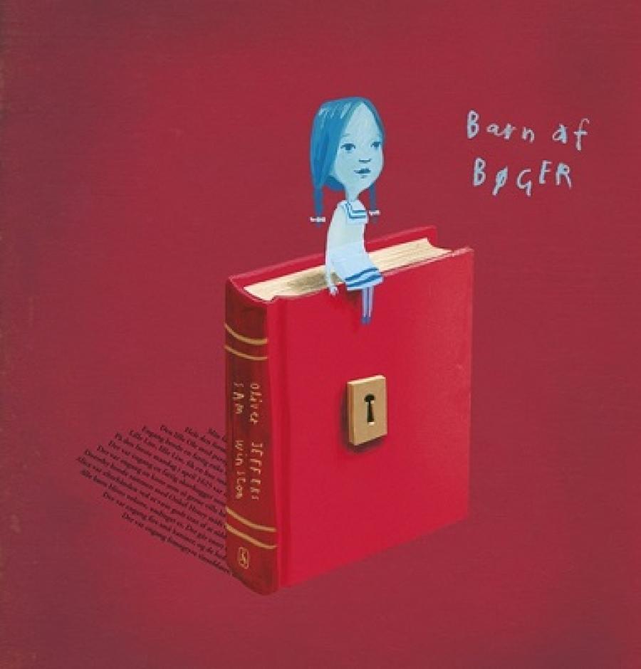 Forside: Barn af bøger af Oliver Jeffers