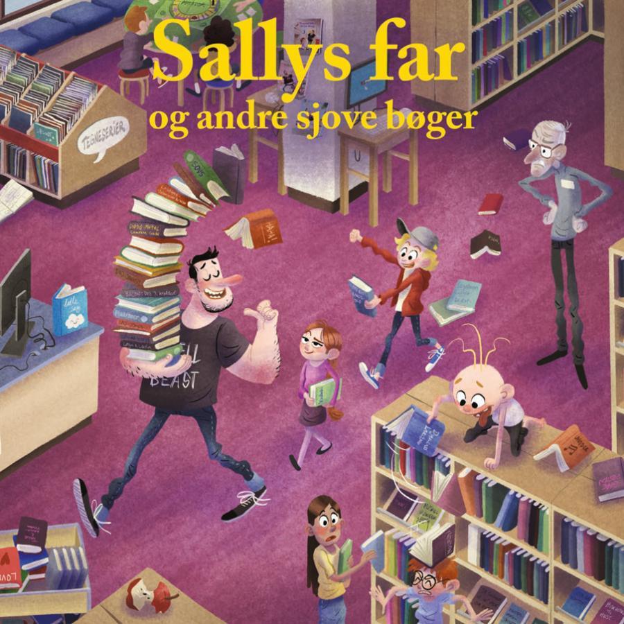 Emneliste: Sallys far og andre sjove bøger