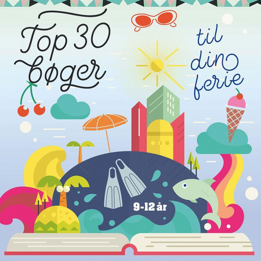 Emneliste: Top 30 bøger til din ferie