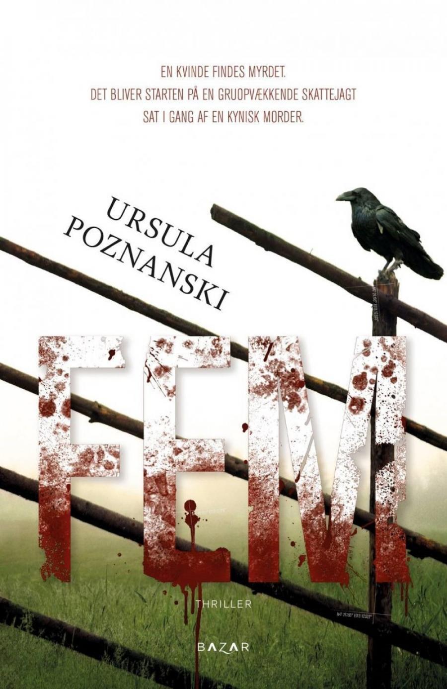 billede af bogen Fem af Ursula Poznanski