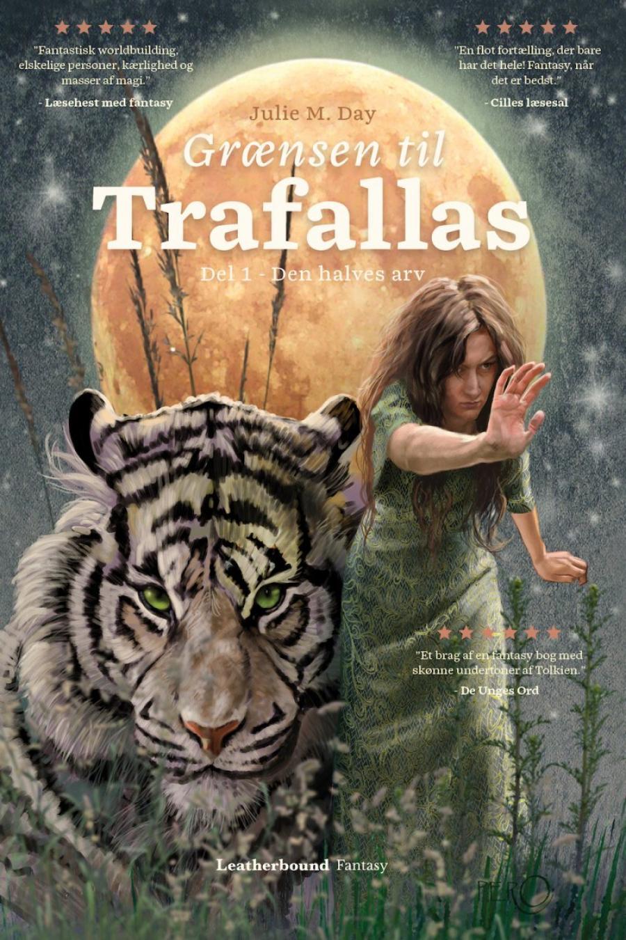 Billede af bogen Grænsen til Trafallas bind 1 Den halves arv