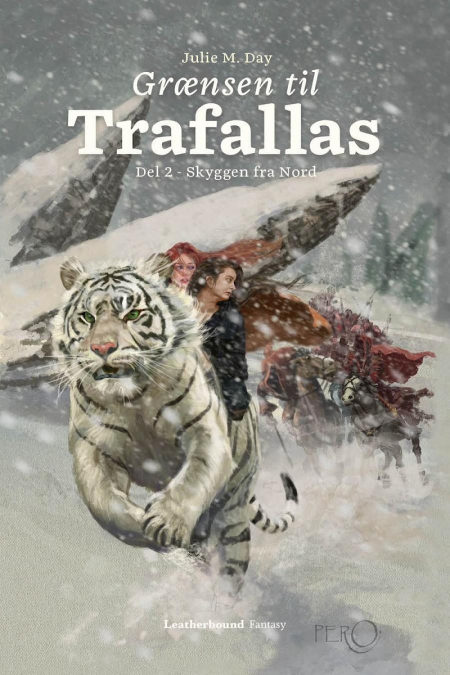 Billede af bogen Grænsen til Trafallas bind 2 Skyggen fra Nord