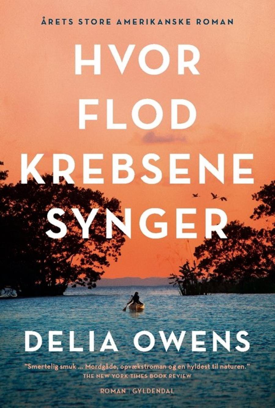 Billede af bogen Hvor flodkrebsene synger af Delia Owens