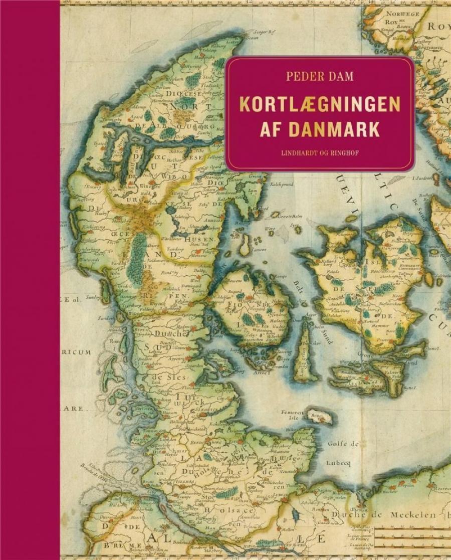 Billede af bogen Kortlægningen af Danmark af Peder Dam