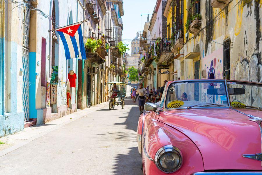 Billede fra cubansk gade