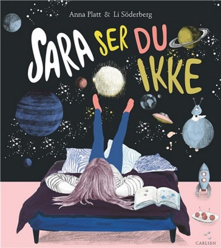 Bogforside: Sara ser du ikke