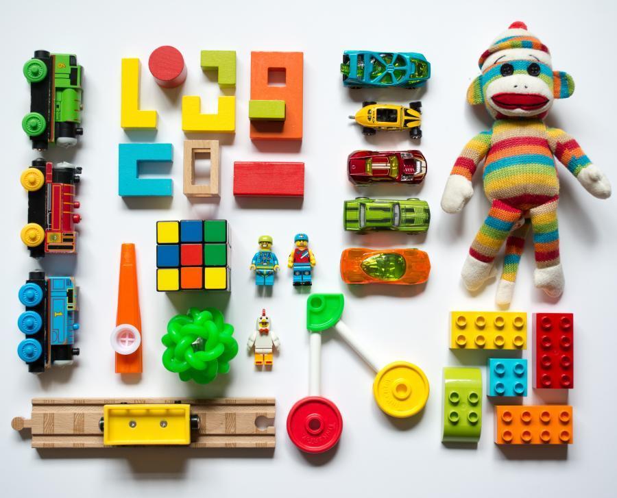 Billede af legetøj